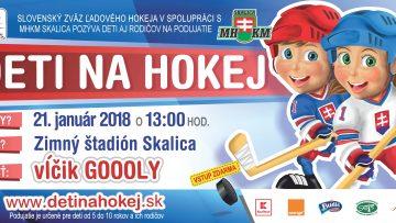 Deti na hokej 2018