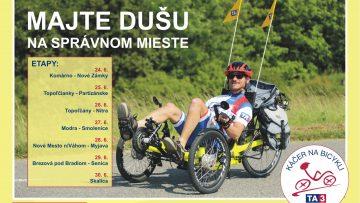 Káčer na bicykli 2018 v Skalici