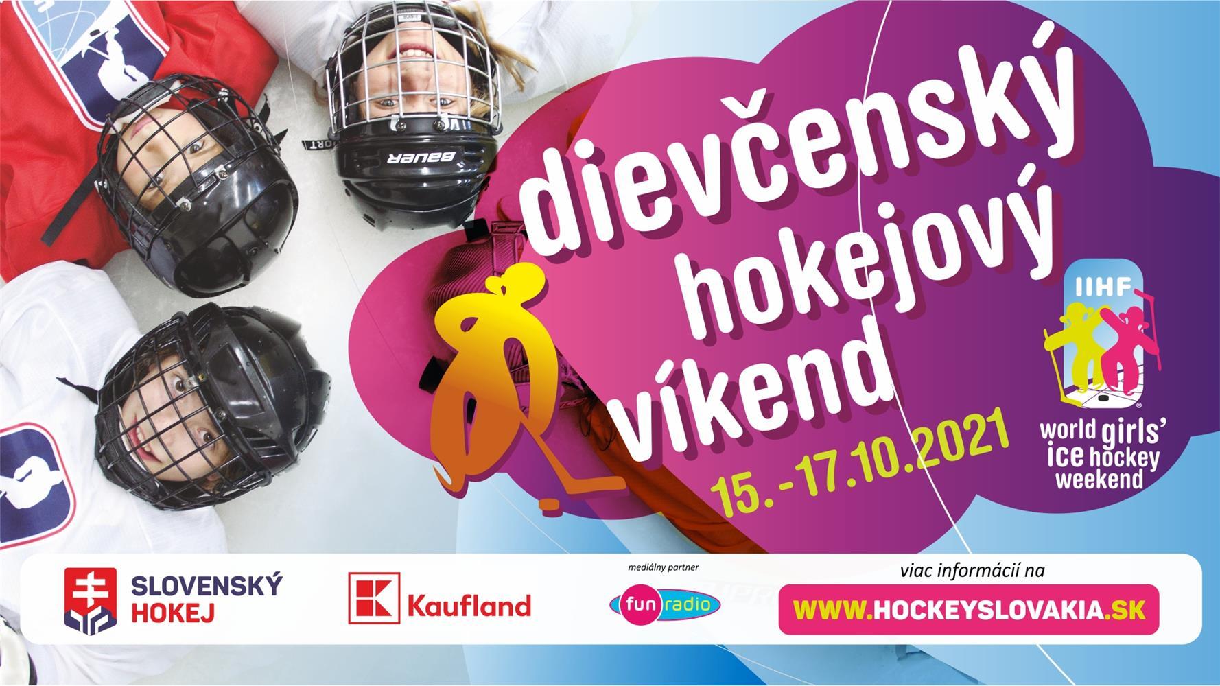 Hokejový víkend pre dievčatá sa uskutoční aj v Skalici!